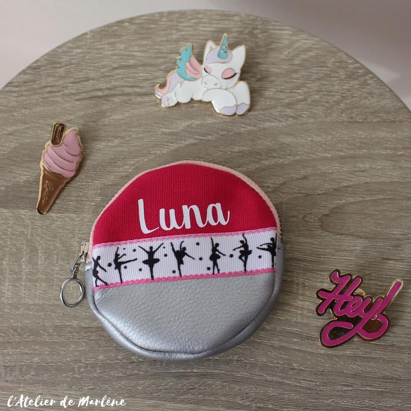 porte monnaie fille danse Luna