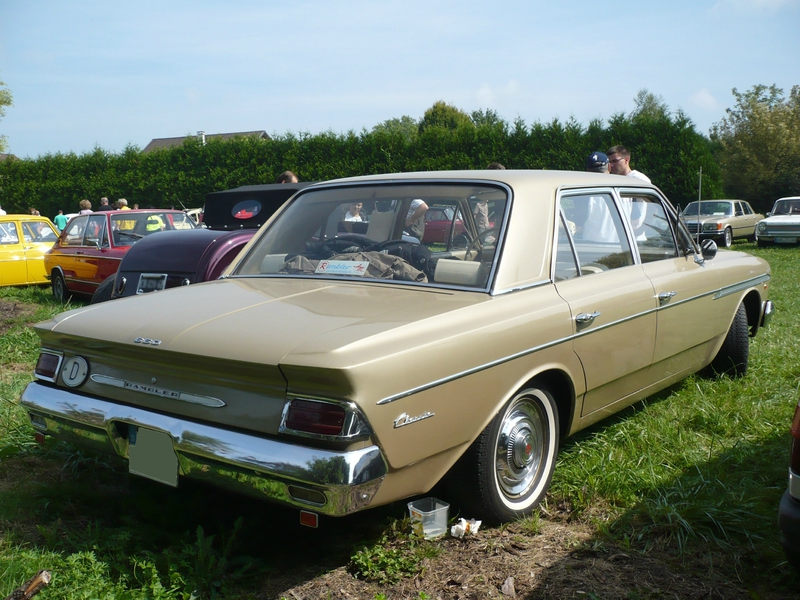 AMC Rambler 660 Classic 4door Sedan 1963 Hambach (2)
