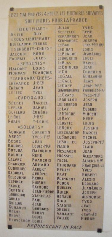 19400523 Acte de décès de René Q Famille Plovan Kerruen_2