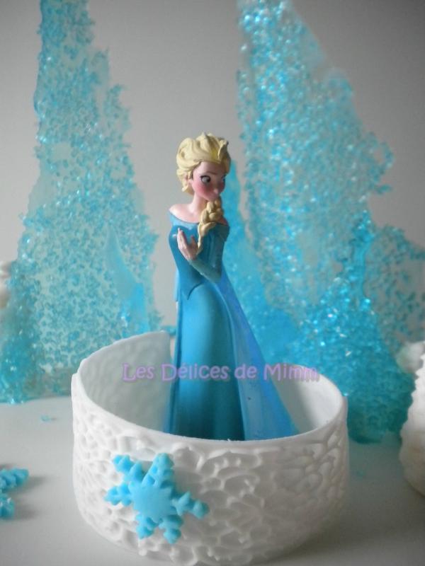 Gâteau La reine des neiges (Frozen) 3