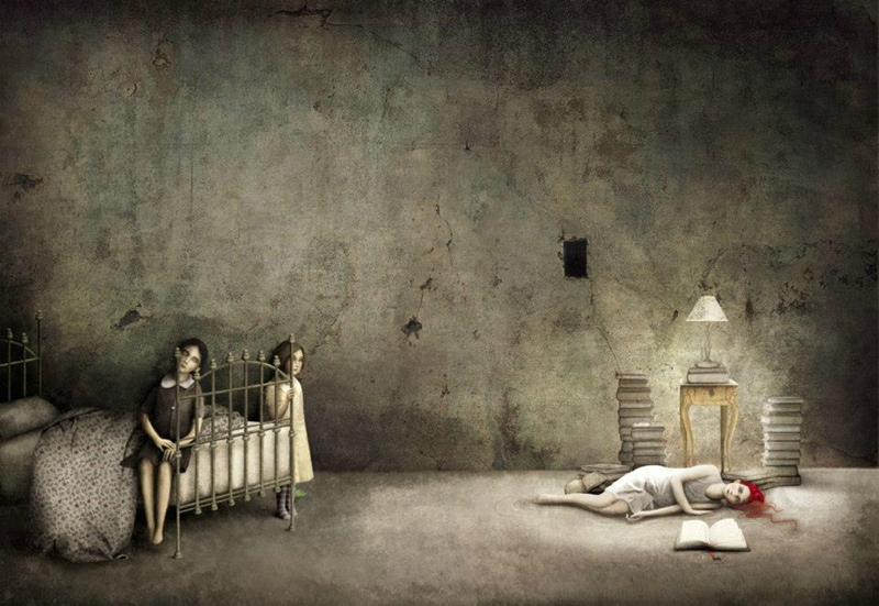 Gabriel Pacheco 1973 - Mexican Surrealist Visionary painter - Tutt'Art@ (55)
