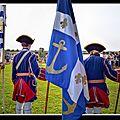 Rochefort démonstration de tambours d'aunis saintonge (compagnie franches de la marine) reconstitution historique