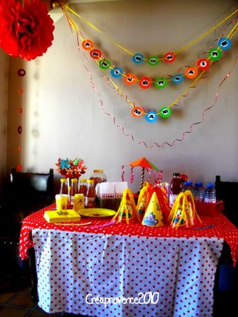 l 39 anniversaire de prunille sur le th me du cirque circus birthday party prunille fait son. Black Bedroom Furniture Sets. Home Design Ideas