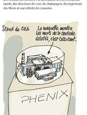 Salon du Nucleaire et Charlie Hebdo
