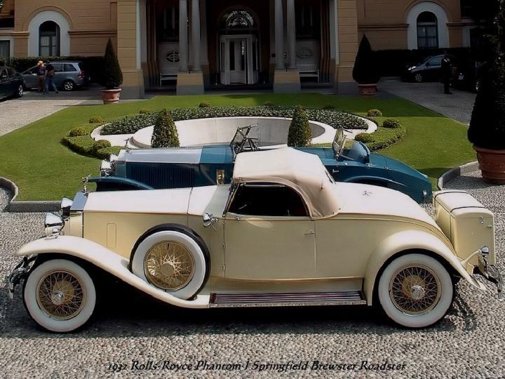 1931 - Rolls Royce Phantom J Springfield Brewster Roadster