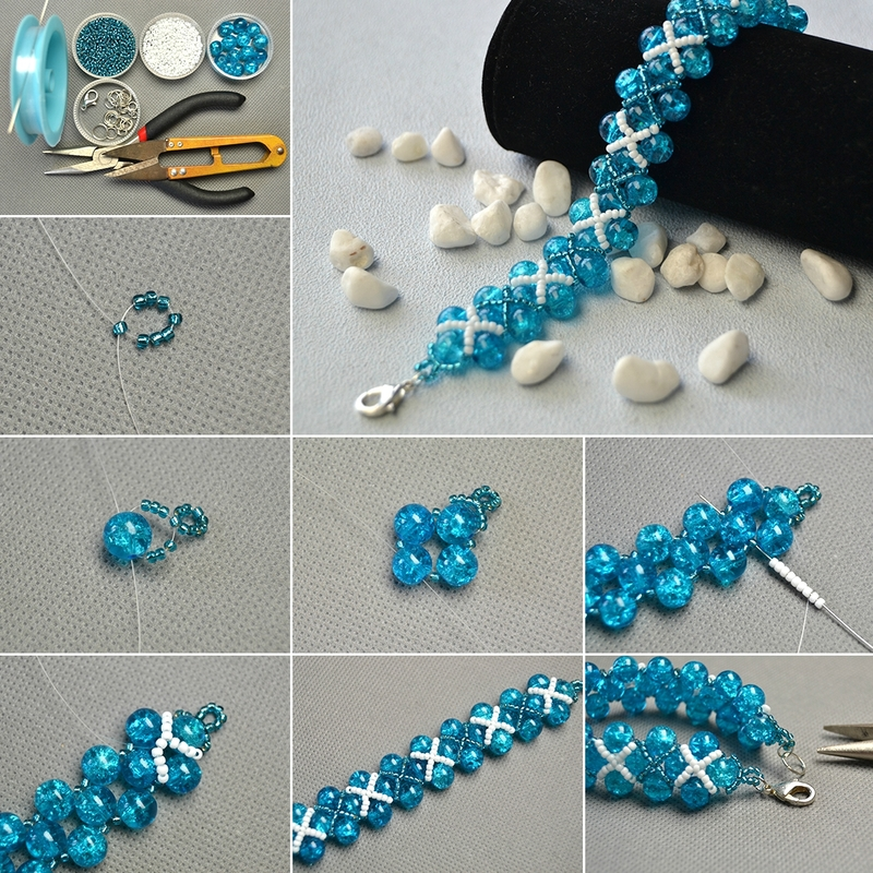 1080-How-to-Make-Blue-Crackle-Glass-Beads-Bracelet