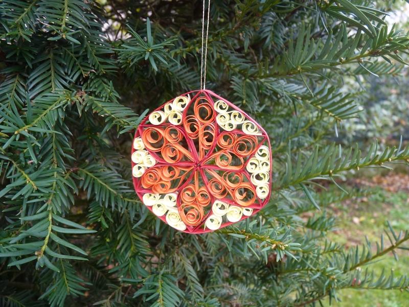 Déco de Noël en quilling (5)