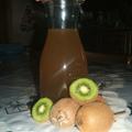Sirop de kiwi à l'extracteur à jus