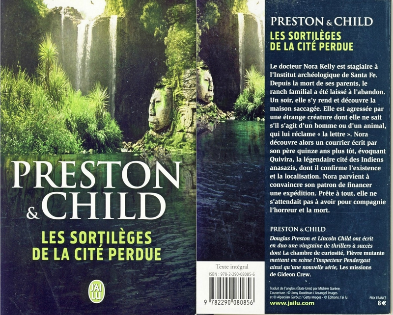 Les sortilèges de la cité perdue -Preston & Child