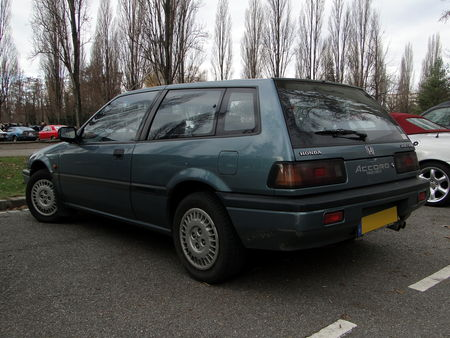 HONDA Accord Aero Deck EX 2,0i 1986 a 1989 Retrorencard 3