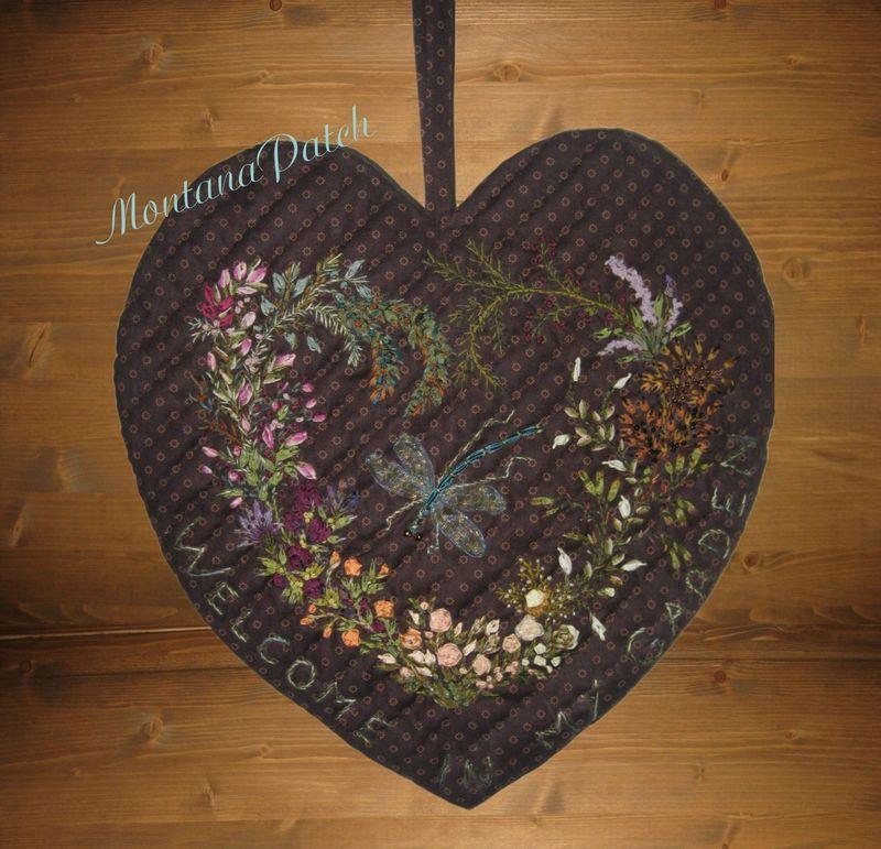 Le coeur brodé MontanaPatch