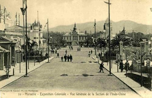 01. Exposition coloniale Marseille 1922 Vue générale.