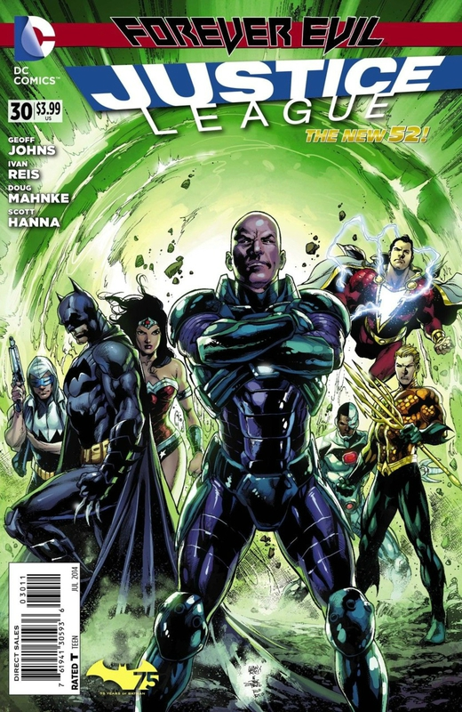 new 52 justice league 30