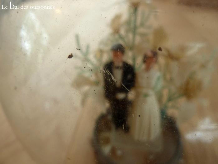106 Blog Brocante Vintage Cloche Mariés Décoration