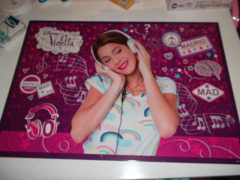 Le set de papeterie Violetta Violetta Blog