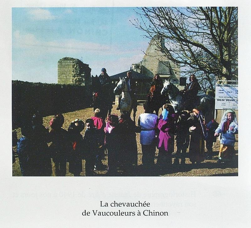 La Chevauchée de Jeanne d'Arc de Vaucouleurs à la Forteresse de Chinon