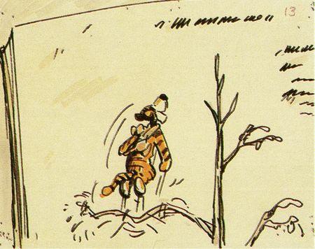 Les Aventures de Winnie l'Ourson - Storyboards 22