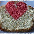 Gâteau caché saint valentin