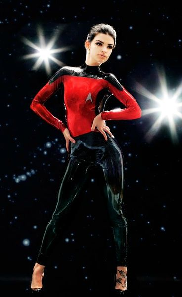 Star Trek latex sexy 4