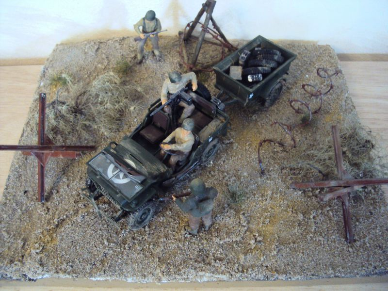 la jeep willys maquettes op ration diorama. Black Bedroom Furniture Sets. Home Design Ideas