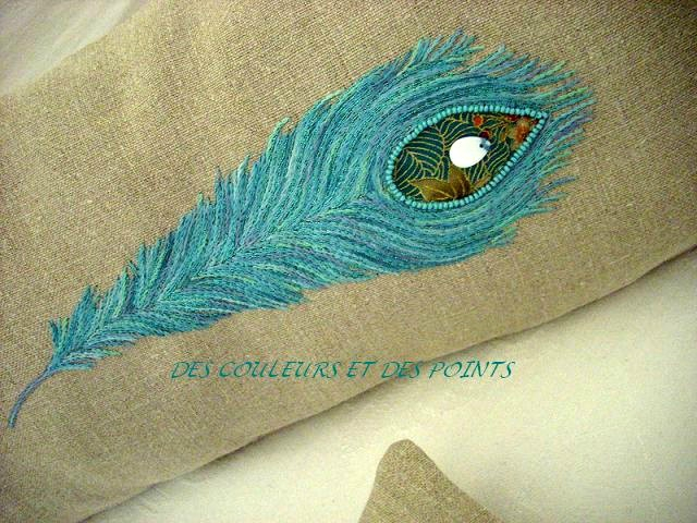 COUSSIN PLUME BRODERIE bis bis