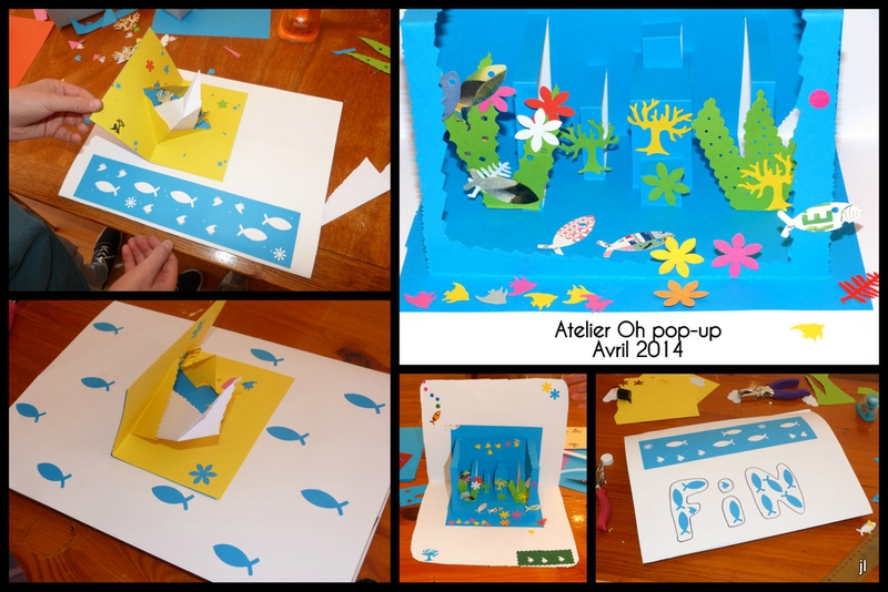 Atelier pop-up Carantec projet aquarium3