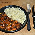 Curry d'haricots rouges