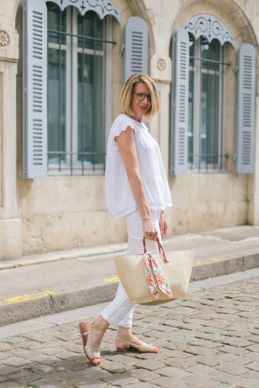 Total look blanc -styliz