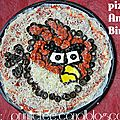 Pizza Angry Birds !
