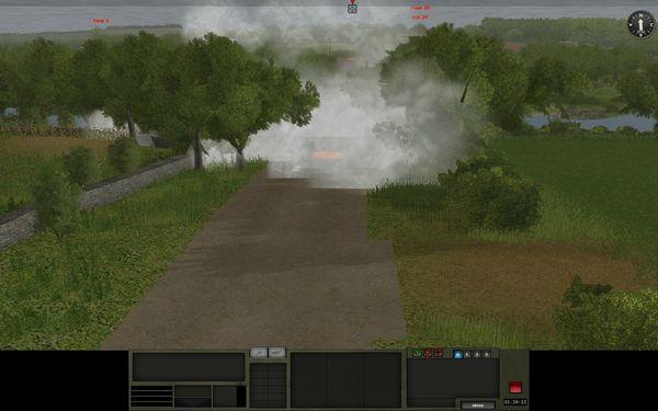 Les fumigènes, atout majeur de dissimulation