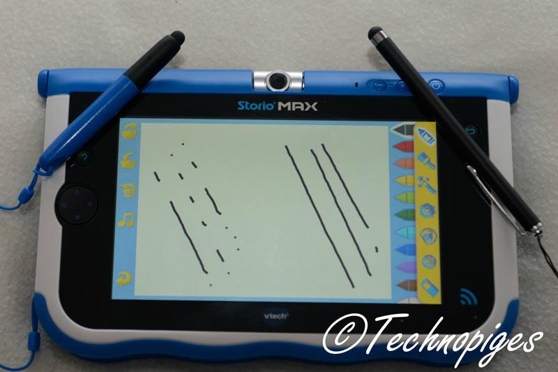 Tablette storio max de vtech le tr s grand test mon for Housse storio max 7
