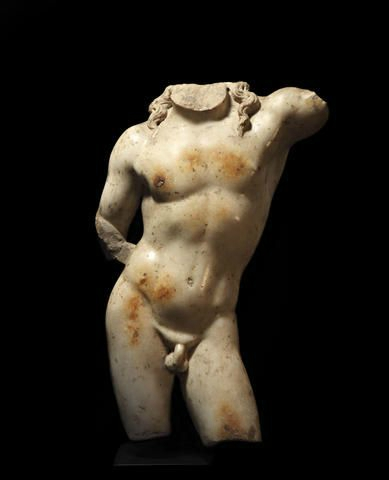 A Roman marble torso of Dionysus, Circa 1st Century A.D.