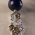 13 pendentif en lapis lazuli. 10 €