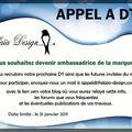 Appel à dt elaia-design