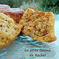 petits carrot cakes (recette de pierre hermé)