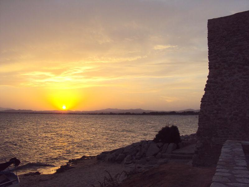 Le coucher de soleil du mercredi 1er septembre 2010
