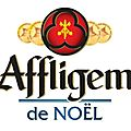 La bche de Nol reviste par Affligem et le chef ptissier Sbastien Gaudard