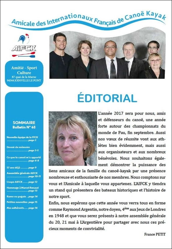 Bulletin 68 couverture