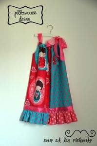 PillowCase Dress - Nous et les Minibouts