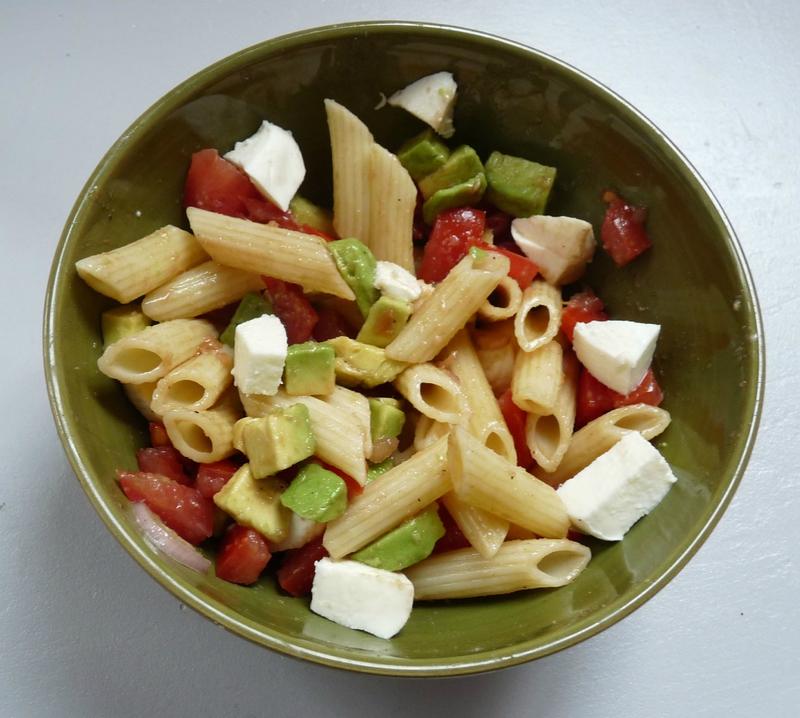 salade de p 194 tes minute pour les pique niques o 249 on n a pas le temps chourprise 4 mains