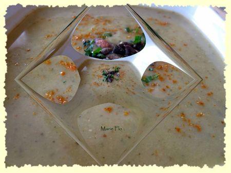 Velouté de courgettes au colombo et graines de courges 005