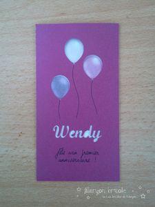 Premier anniversaire - Invitations