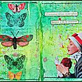 Art journal texture