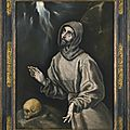Doménikos theotokopoulos, called el greco and workshop (candía, crete 1541 – 1614 toledo), saint francis of assisi in ecstasy
