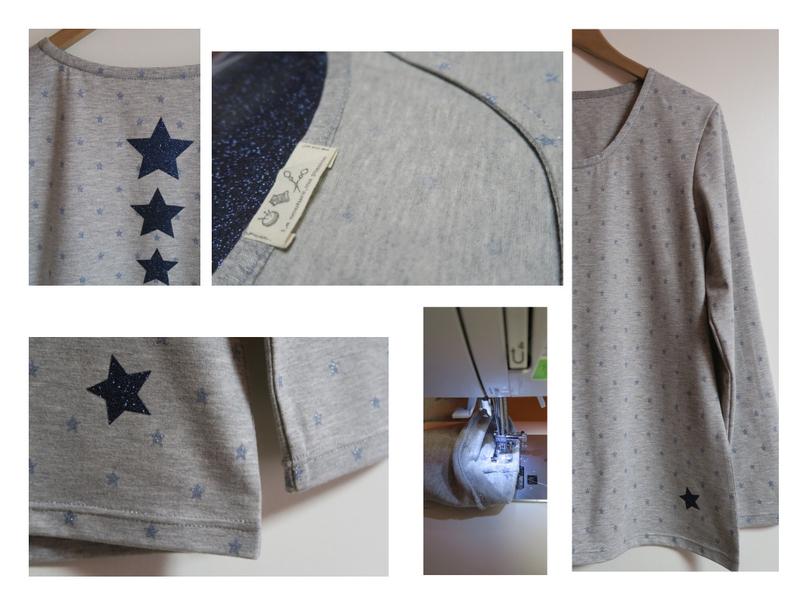 tee shirt étoiles FR