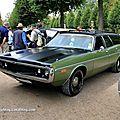 Dodge coronet custom de 1973 (7500 ex)(9ème Classic Gala de Schwetzingen 2011) 01