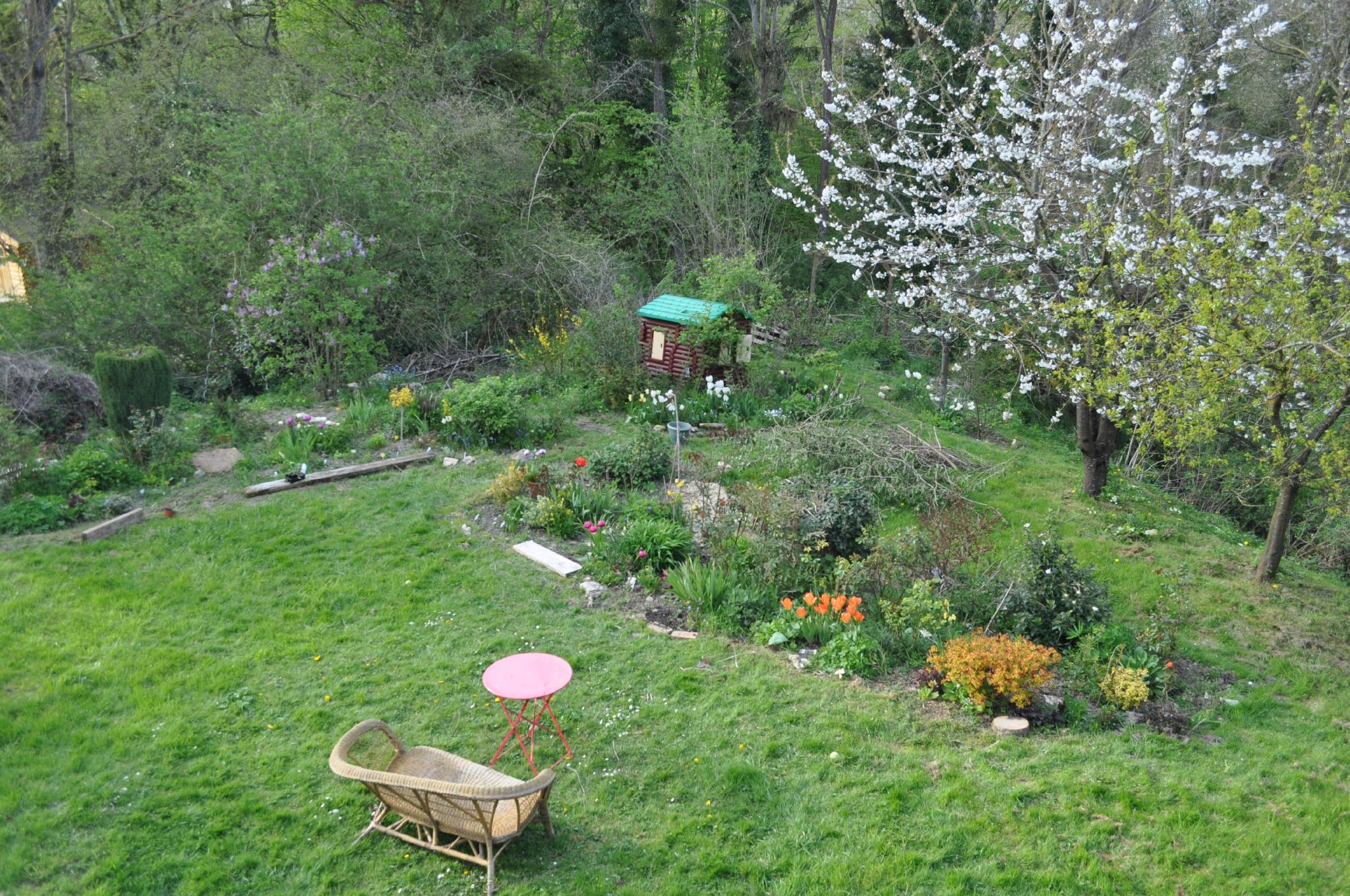Derni re semaine d 39 avril le jardin du r - Petit jardin ru ...