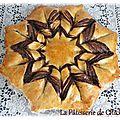 Brioche fleur à la pâte à tartiner