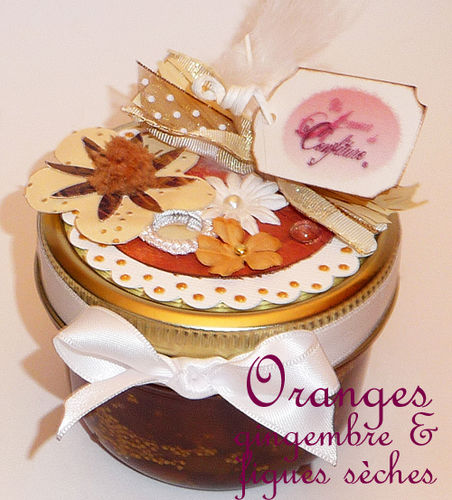 Oranges gingembre & figues sèches