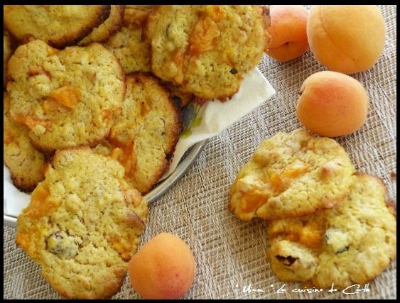 """ღ """" Miam """" Cookies aux Abricots et Muesli aux fruits"""